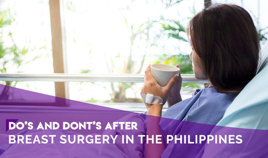 breast surgery ph dos and donts after breast surgery in the philippines